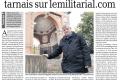 La Dépêche 11 nov 2017 - Morts 14-18 sur le site lemilitarial.com